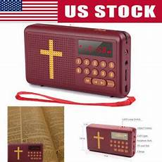 Bible Audio Books Player Speaker King by Rechargeable Audio Player Electronic Bible Talking King