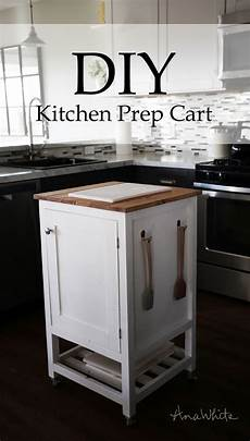 Kitchen Island Cart Diy by White How To Small Kitchen Island Prep Cart With