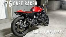 bmw k75 cafe racer timelapse build
