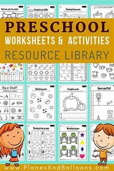 preschool worksheets free 18349 400 free preschool worksheets in pdf format to print planes balloons