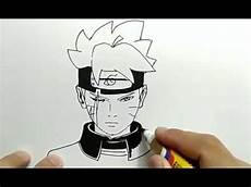 Boruto Gambar Anime Pensil Gambar Anime Keren