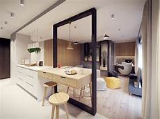 Entrée Appartement Design Creative Room Division Interior Design Ideas