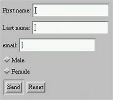 forms in html documents