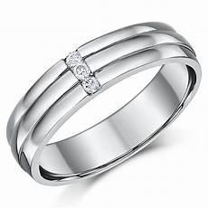 5mm palladium diamond wedding ring band palladium rings at elma uk jewellery