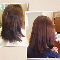 Rebonded Hairstyles