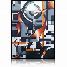 tableau geometrique moderne tableau g 233 om 233 trique moderne 224 l huile sur toile