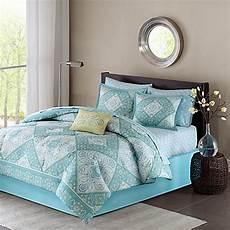 madison park essentials morgan comforter set in blue www