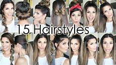 Cool Hairstyles To Wear To School 15 back to school heatless hairstyles