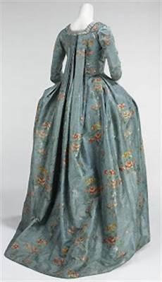 robe 224 la fran 231 aise 1760 70 silk cotton the
