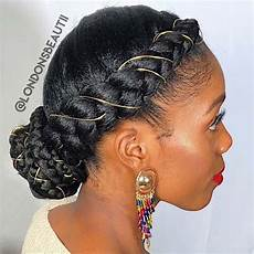 23 beautiful braided updos for black hair stayglam