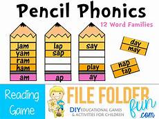 phonics language printables file folder fun