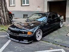 bmw e36 3 series cabrio black slammed imagens bmw