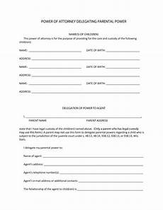 50 free power of attorney forms templates durable medical general