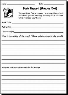 book report 5 6 writing practice worksheet for 5th and 6th grade jumpstart free printab