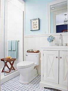 Small Bathroom Ideas Blue And White by Bathroom Tour Blue White Cottage Style