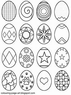 easter egg drawing to colour at getdrawings free
