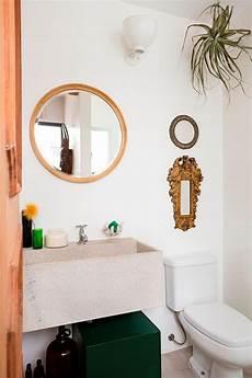 Kleine Badezimmer Design Mit Waschbecken Aus Stein Das