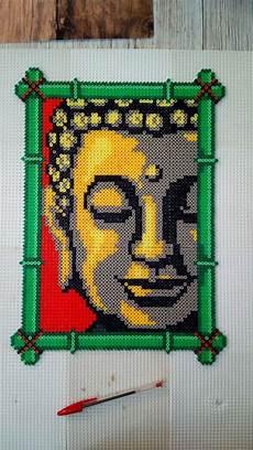 Bügelperlen Kreative Ideen - boudha 2016 hama artkal perler pattern