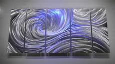 metal art modern wall decor 3d led rgb halogen lights original hand made by lubo naydenov youtube