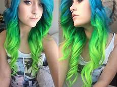 Blue And Green Hair how i dyed my hair blue and green vp fashion review