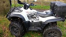 tgb blade 550 road 4x4 atv with winch top box