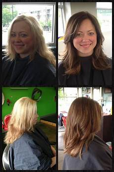 mom hair and fashion makeovers mom makeover before and after before and after hair by kathryn werk hair makeover mom hairstyles virtual hair makeover