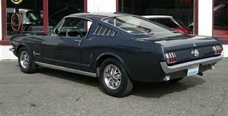 1966 Ford Mustang Nightmist Blue