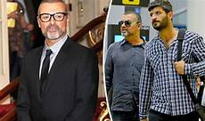 george michael fadi fawaz george michael tried to split with partner before his