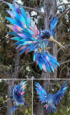 stunning sculptures made from discarded cd artist turns cds into amazing sculptures instead of