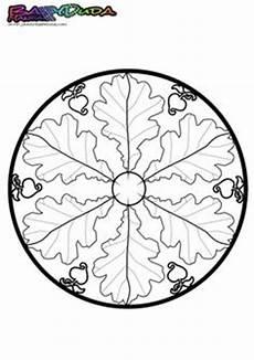 Herbst Ausmalbilder Mandala Mandala Egeltjes Herfst Egels Kleurplaten