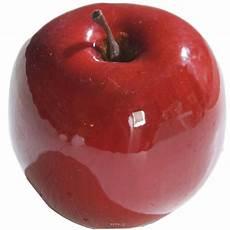 Pomme Artificielle Brillante D9cm Superbe En