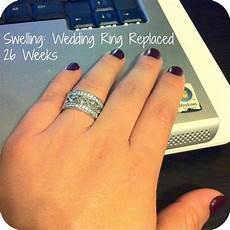 pregnant swollen fingers wedding rings pregnancy swelling wedding ring seven graces