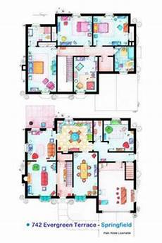 the simpsons house floor plan 1000 images about famous floorplans on pinterest floor