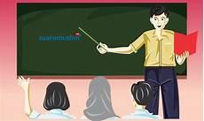 Gambar Kartun Guru Mengajar Png Gambar Kartun Keren