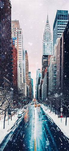 Iphone Wallpaper New York Winter by 4k Winter Wallpapers For Iphone Mac