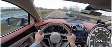 Bentley Bentayga Diesel Passes Cars At 270 Km H In