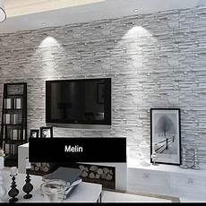 Stacked Brick 3d Wallpaper Modern Wallcovering Pvc
