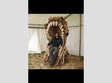 Best garden throne ever   Weird furniture, Game of thrones