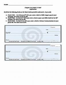writing checks check registers and consumer price activity worksheet