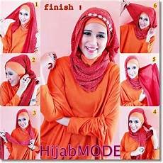 Tutorial Pashmina Simple Modern