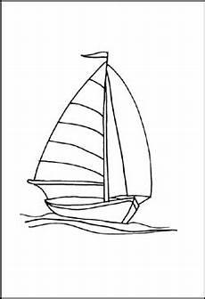 Malvorlage Segelboot Einfach Malvorlagen Schiffe Und Boote