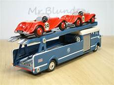 bedford cing car dinky toys bedford mg race car transporter mg ta tb tc td tf bedford town f c