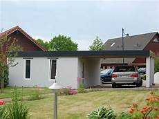 Carport Garage Kombination Holz - garagen carport kombination als fertiggarage