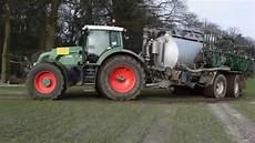Traktoren Im Einsatz 2015 G 252 Lle Substrat Fahren Mit Fendt