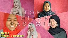 Tutorial Pashmina Bahasa Indonesia