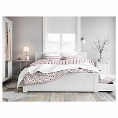 Ikea Brusali Bed Frame With 4 Storage Boxes Bedroom в