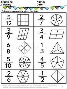 fraction fundamentals part of a whole seton math 2 fractions math fractions worksheets