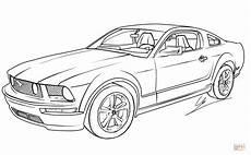 Ausmalbilder Zum Drucken Autos Ausmalbilder Ford Mustang 466 Malvorlage Autos