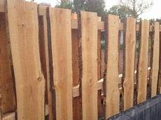sichtschutzzaun günstig selber bauen sch 246 ner gartenzaun grundst 252 ckszaun aus baumstamm schnitte