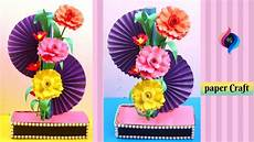 Home Decor Ideas Using Paper by How To Make Home Decoration With Paper Diy Simple Paper